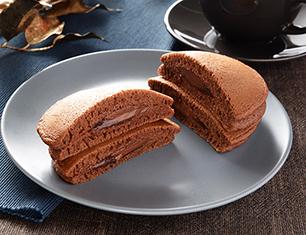 ヘーゼルナッツチョコのもちっとパンケーキ 2個入