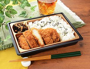 新潟コシヒカリ ロースとんかつ弁当