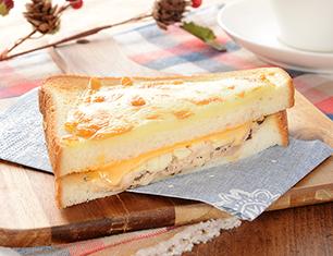 ホットサンド(とろけるチーズ&ツナ)