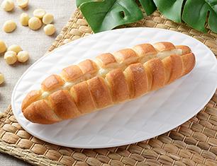 ちぎれるマカダミアナッツフランスパン