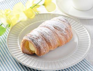 クッキーデニッシュコロネ~レモン風味のカスタードクリーム~