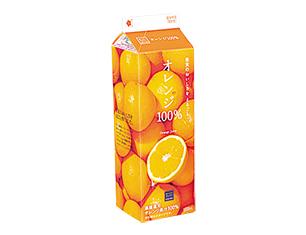 オレンジ100% 1000ml