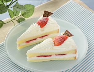 苺のショートケーキ 2個入