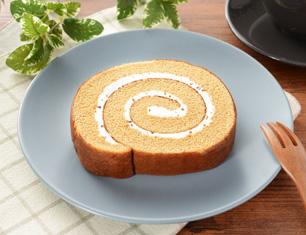 ふわふわ濃厚キャラメルロールケーキ