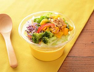 かぼちゃと6種野菜の冷製スープ