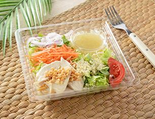 サラダチキンとハーブのサラダ