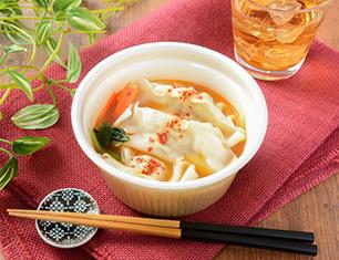 1食分の野菜が摂れる餃子チゲスープ