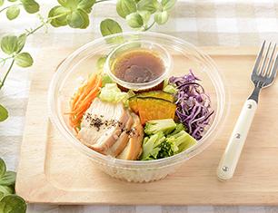 1食分の野菜が摂れる!ブランパスタサラダ