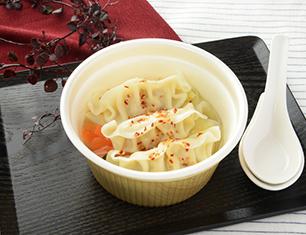 1食分の野菜が摂れる餃子スープ