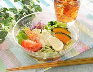 1食分の野菜が摂れるサラダラーメン(ごまだれ)