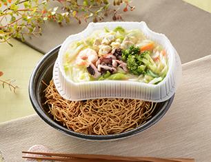 1食分の野菜が摂れる海鮮皿うどん