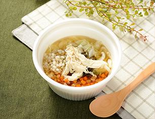 NL L生姜入りもち麦のスープ
