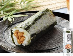 手巻寿司 こだわり納豆