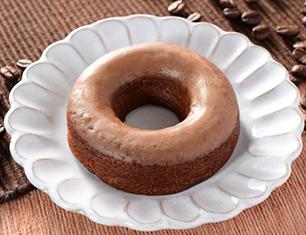 ブランの焼きドーナツ(コーヒー)