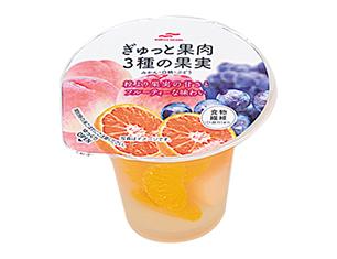 マルハ 3種の果実ゼリー 205g