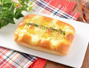 四角いたまごチーズパン