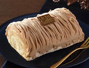 イタリア産栗のロールケーキ