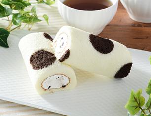 ミニもち食感ロール(クッキー入りクリーム) 2個入