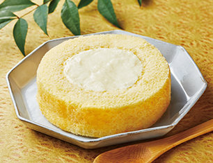 Uchi Café×八天堂 カスタードくりーむロールケーキ