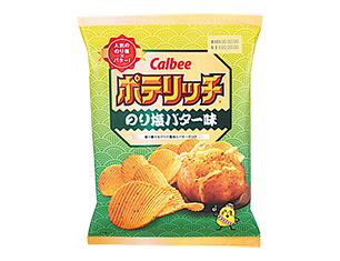 カルビー ポテリッチのり塩バター味 100g