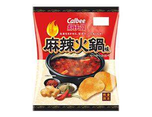 カルビー ポテトチップス麻辣火鍋味 65g【ローソン限定商品】