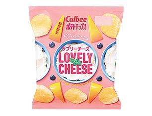 カルビー ポテトチップスラブリーチーズ 65g