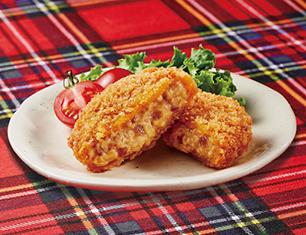 北海道産あめ色玉ねぎとチーズのコロッケ