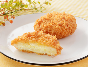 北海道産ホタテとチーズのグラタンコロッケ
