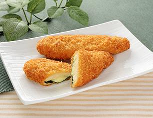 チーズと大葉のささみフライ