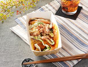 こんにゃく麺の広島風お好み焼