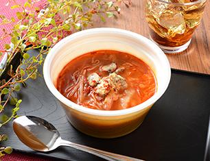丸ごと豆腐のスンドゥブチゲスープ