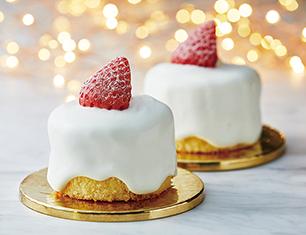 苺のキャンドルケーキ