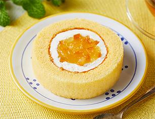 貝印スイーツ甲子園 晩柑ロールケーキ