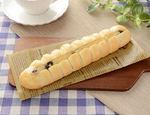 ちぎれるラムレーズンクリームフランスパン