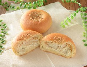 NL ブランのサラダチキンマヨネーズパン 2個入
