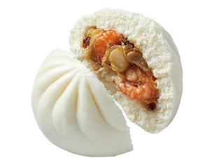 贅沢海鮮肉まん(フカヒレ入り)
