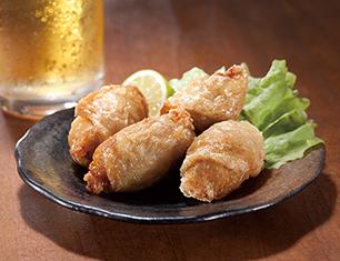 鶏皮ぎょうざ(なんこつ入) 4個