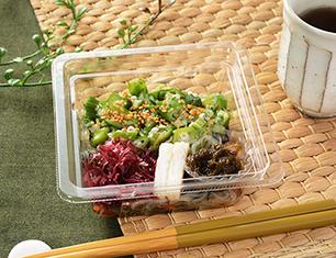 オクラと沖縄県産もずくのネバネバサラダ