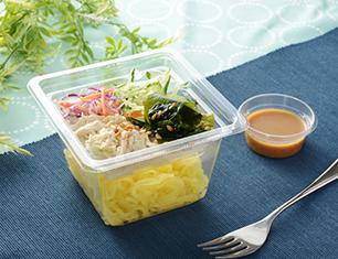 NL 海藻と蒸し鶏のこんにゃく麺サラダ