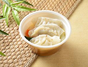 6品目の餃子スープ