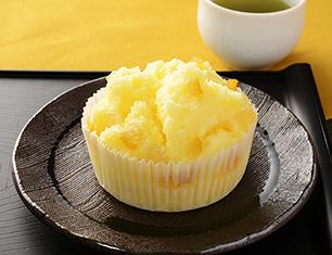 柚子とぶんたんの米粉蒸しぱん