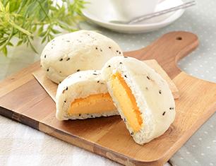 NL 糖質オフの黒ごまとチェダーチーズクリームのパン 2個入