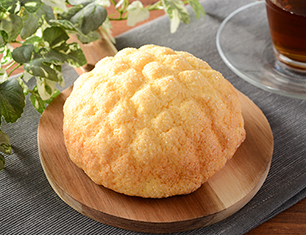 香るバターのサックリメロンパン