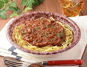 完熟トマトのミートソース