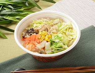 1/2日分の野菜が摂れるちゃんぽん