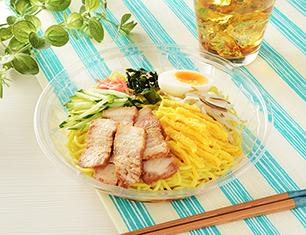 直火焼豚チャーシューの冷し中華(醤油だれ)