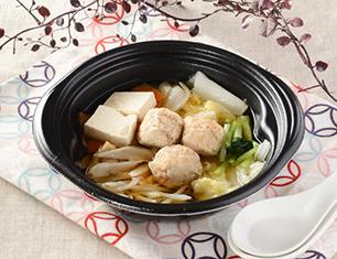 9品目の鶏団子鍋