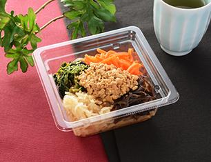 ピリ辛肉味噌と野菜ナムルの春雨サラダ
