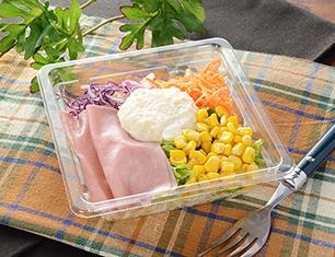 ハムコーンポテトのサラダ