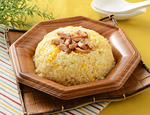 玉子と焼豚の炒飯